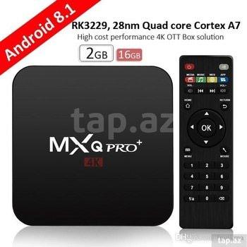 """tüner - Azərbaycan: Tüner """"OTT TV Box MXQ Pro Plus 4K""""OTT TV Box MXQ Pro Plus 4K internet"""