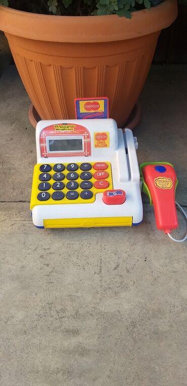 ручной фасовочный аппарат в Кыргызстан: Детская игрушка Кассовый аппарат рабочий