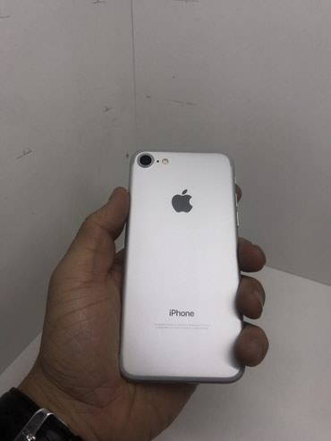 Iphone 7 silver 32gb в Бишкек