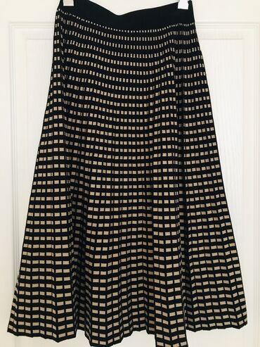 Деми сезон юбка длинная юбка, юбка в клетке весення юбка новая