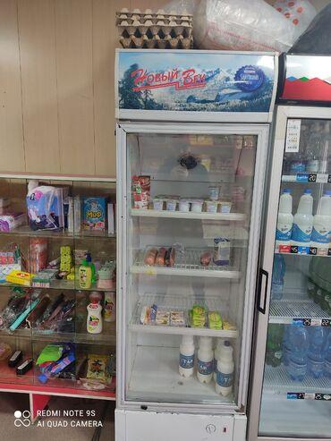 Аква вита - Кыргызстан: Б/у Холодильник-витрина Белый холодильник