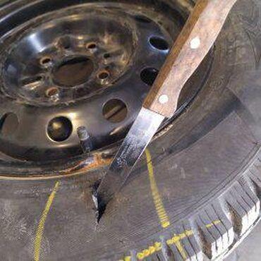 Шины для грузовиков - Кыргызстан: Профессиональный шиномонтаж ремонт боковых порезов шины любой