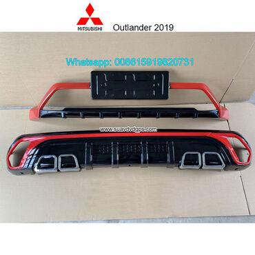 Mitsubishi Outlander 2019 Car bumpersModel SUV-M619ABUMPER GUARD For