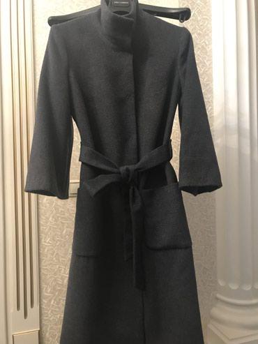 утепленное пальто в Кыргызстан: Утепленное зимнее пальто. Сшито на заказ в ALTAMODA. Ткань Armani