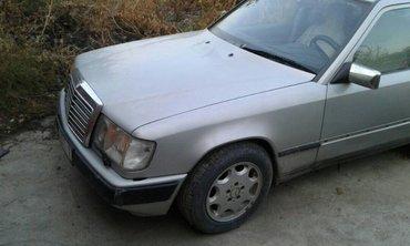 продаю или меняю мерседес 260е.автомат,1987года.цвет серебро.седан.ант в Бишкек