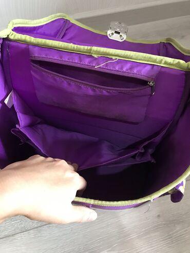 Рюкзаки в Кыргызстан: Продаю рюкзак ортопедический, erichKrause фиолетовый! Светоотражатели