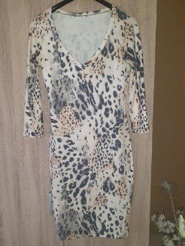 Haljina materijal elastin - Srbija: Prelepa haljina doneta iz Italije materijal pamuk sa elastinom,jako