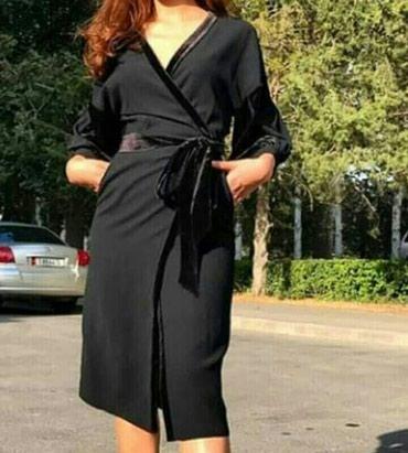 летнее платье с запахом в Кыргызстан: Платье на запах от 48 по 54 размеры по 1500 сом