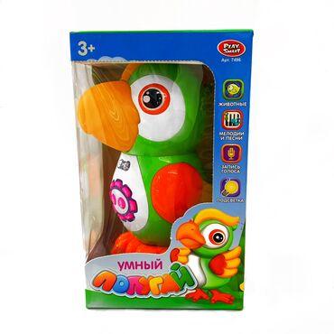 большая мягкая игрушка медвежонок в Кыргызстан: Забавный интерактивный попугай!!!Расскажет 43 стихотворения про