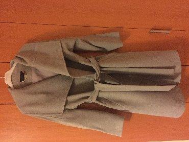 Zimski-sorc-broj-crn-pro-srebrnim-nitlep - Srbija: Zenski zimski kaput sive boje, postavljen, broj 40, nenosen. Isporuka
