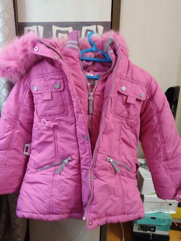 Продаю куртку и плащ на девочку, 5-7 лет, зима, состояние хорошее ку