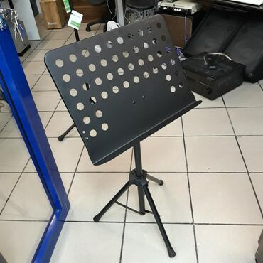 Стойки для музыкальных инструментов в Кыргызстан: PROEL RSM360M-Пюпитр (подставка для нот)профессиональный, стальной