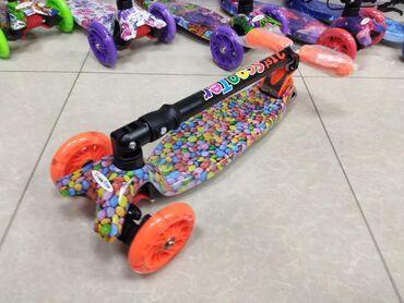 Детский самокат Scooter 21st трехколесный детский самокат