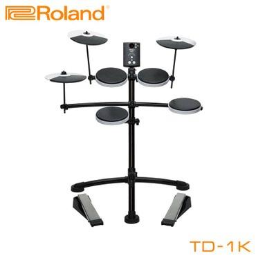 Барабаны электронные: Roland TD-1KV (данная модель барабанной