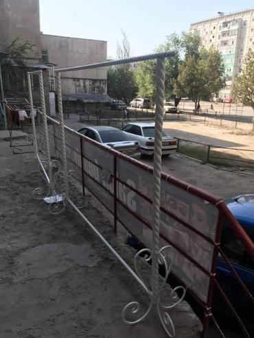 Вешалка Длинна 2 м высота 1,60 в Бишкек