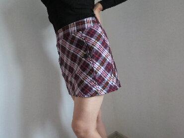 ESPRIT karirana suknja 36 vel  Postavljena, topla bez felera i mana