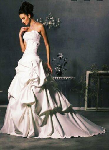 razmer 44 45 в Кыргызстан: Свадебное платье 44 - размер