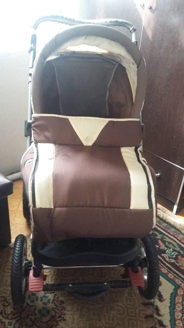 все за 3000 в Кыргызстан: Продаю б/у детскую коляску в отличном состоянии на лето на зиму