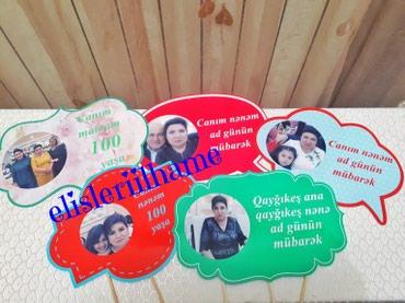Bakı şəhərində Pankartlar 1 azn
