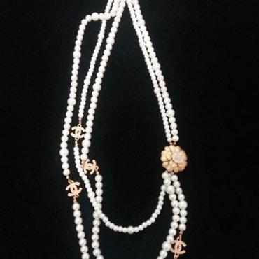 """chanel 5 в Кыргызстан: Продаю эксклюзивные искусственные бусы """"Chanel"""" качество люкс"""