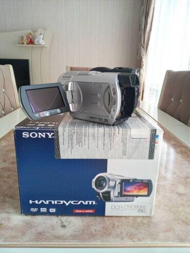 Sony dcr-dvd-808 videokamera,teze veziyetde,qutusu,senedleri.2diski