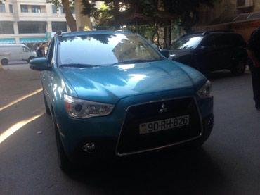 Bakı şəhərində Mitsubishi ASX 2012