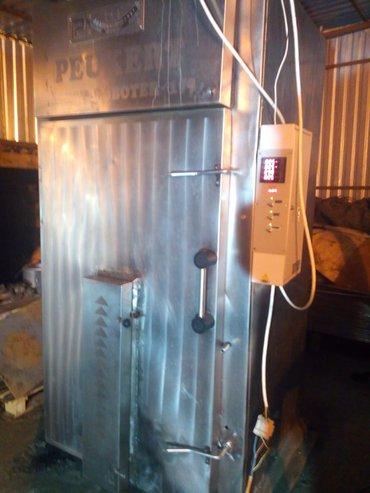 Оборудование для бизнеса в Беловодское: Термокамера на 600 кг. 22кват. коптит,варит,жарит.автоматическаа