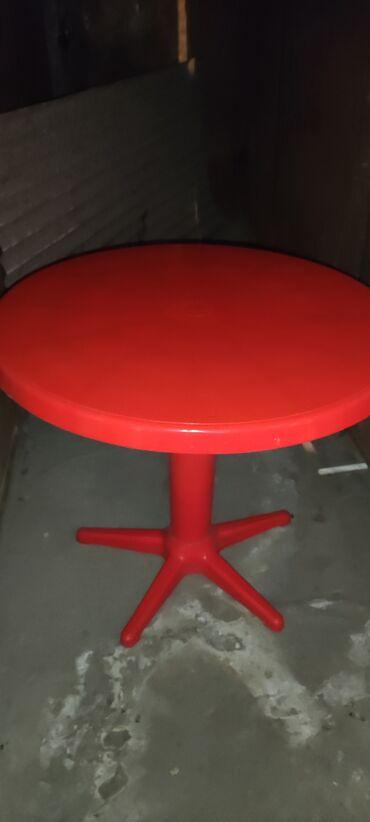 Продам круглый стол б/у в хорошем состоянии не треснутый,не
