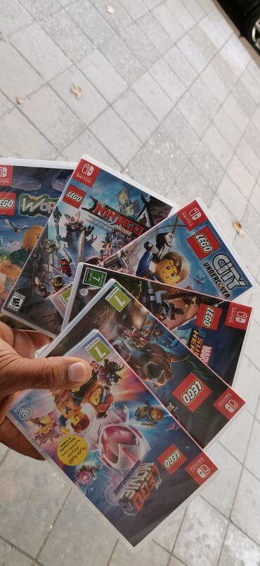 Nintendo Switch - Azərbaycan: Nintendo switch üçün oyunlar
