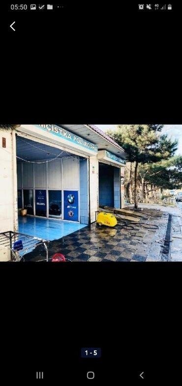 avtomoyka icarəsi - Azərbaycan: Avtomoyka satılır 2 bokuslu 48 kv .m. iş üçün bütün avadanlıqları var