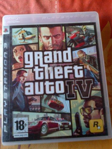 Igrice za ps3 - Srbija: GTA4 igrica za Sony Playstation 3 br.2.=ispravne su testirane=neke