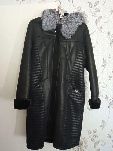 женская пальто в Кыргызстан: Продаётся новая дубленка женская размер 52-54 обращаться по телефону
