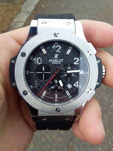 Часы hublot big bang копия черно-белые б/у. Можем договориться с цено
