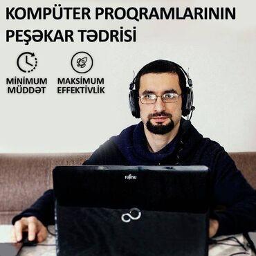 Kompüter kursları   Adobe Photoshop, Corel Draw, Programlaşdırma   Onlayn, Fərdi, Qrup