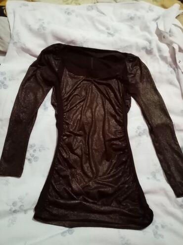 Haljina za sve ane prilike zlatno braon vel L