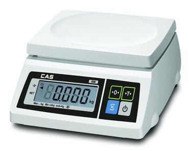 Весы CAS SW-I-20 - практичные фасовочные весы бюджетной серии
