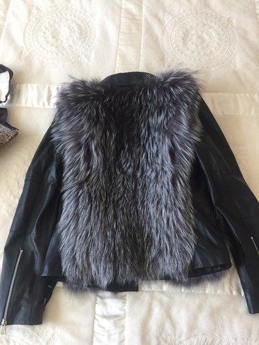 Кожанная куртка с мехом в Бишкек