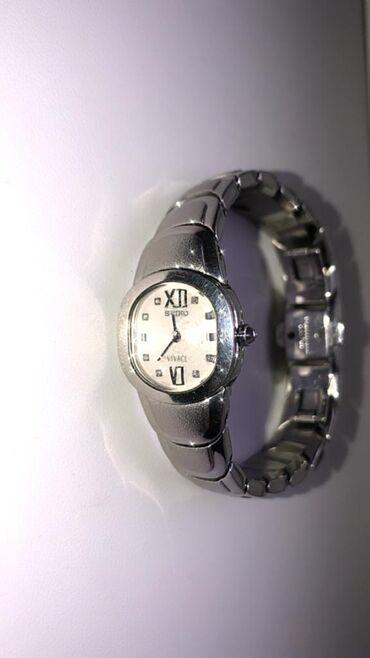 """Искусство и коллекционирование - Кыргызстан: """"seiko""""-японские часы! Фирменные!Водостойкие! С 8 бриллиантами!"""