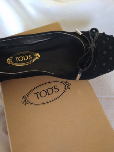 Черные туфли фирмыTOD,S размер 38 в Bakı