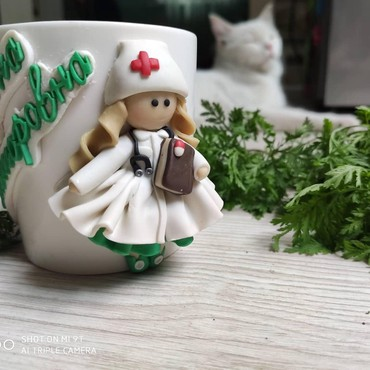 Стаканы - Кыргызстан: Кружечка сделана для педиатра! С именем и отчеством врача! возможен