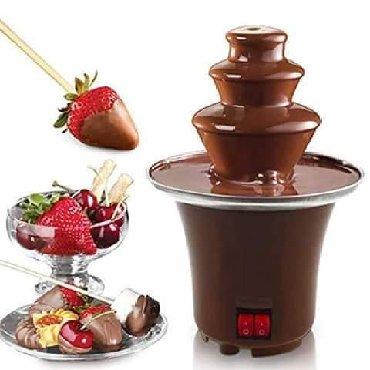 Kuća i bašta   Novi Knezevac: Čokoladna fontana sa 3 nivoaNije lako nabrojati sva čudesna svojstva