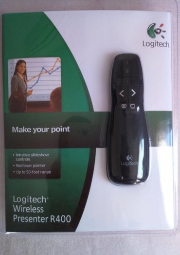 Logitech r400 2. 4ghz mini bežicni(wireless) prezenter - novo -  - Novi Sad