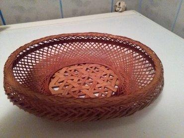 Korpa za hleb extra pletena od pruca,,pogledaj moje oglase ima svasta - Sombor