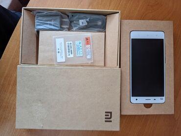 термотрансферная пленка в Кыргызстан: Б/у Xiaomi Mi4 16 ГБ Белый