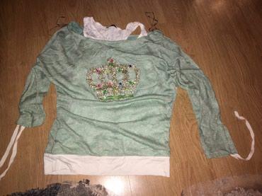 Nova svetlucava bluza sa podmajicom - Novi Pazar