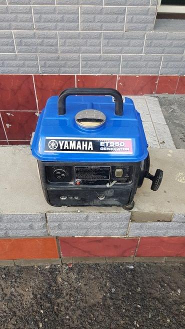 Генератор  YAMAHA, ET950. Бензиновый. почти новый. в Джалал-Абад