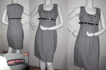 Poslovna siva haljina uz telo - Novi Sad