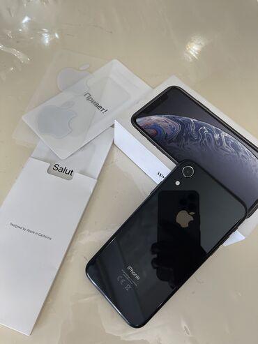 защитные очки для телефона в Кыргызстан: Продаю iPhone Xr 128gb в черном цвете. Состояние идеальное 10/10, нет