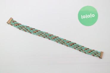 Жіночий плетений пасок     Довжина: 49 см  Стан дуже гарний