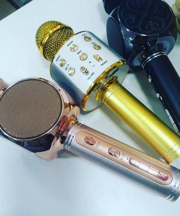 Микрофоны в Кыргызстан: Микрофон без праводной для караоке и музыкантов,для любителей